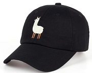 Alpaca Baseball Cap for sale at PurelyAlpaca