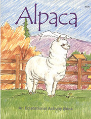 Alpacas Color and Educational Activity Book