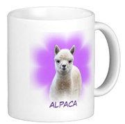 Alpaca Hope Mug for sale by Walnut Creek Alpacas