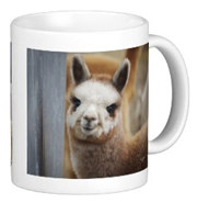 Cute Alpacas Mug for sale by Walnut Creek Alpacas