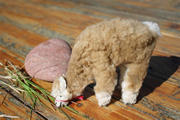 Grazing Alpaca Fur Toy