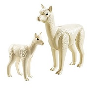 Playmobil Alpaca and Cria