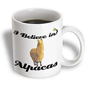 I Believe in Alpacas Coffee Mug