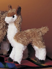Llena the Llama Stuffed Toy by Douglas Cuddle Toys